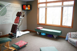 Y Wellness Chiropractic Office Clinic Plymouth Minnesota adjustment room spinal alignment subluxation child infant kid youth health wellness
