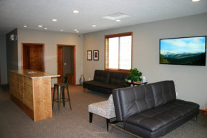 Y Wellness Plymouth Minnesota lobby reception waiting room area welcoming comfortable chiropractor office