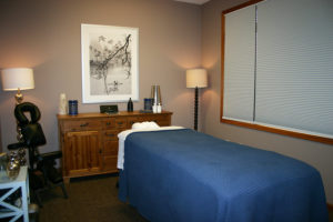 Y Wellness Plymouth Minnesota massage therapy room