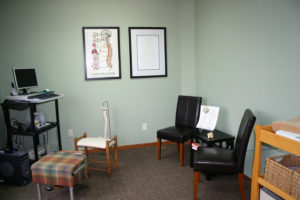 Chiropractic scan room y wellness plymouth minnesota chiropractor spinal alignment adjustment sublaxation scan testing